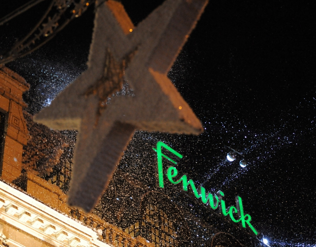 Fenwick's Rooftop Christmas Experience