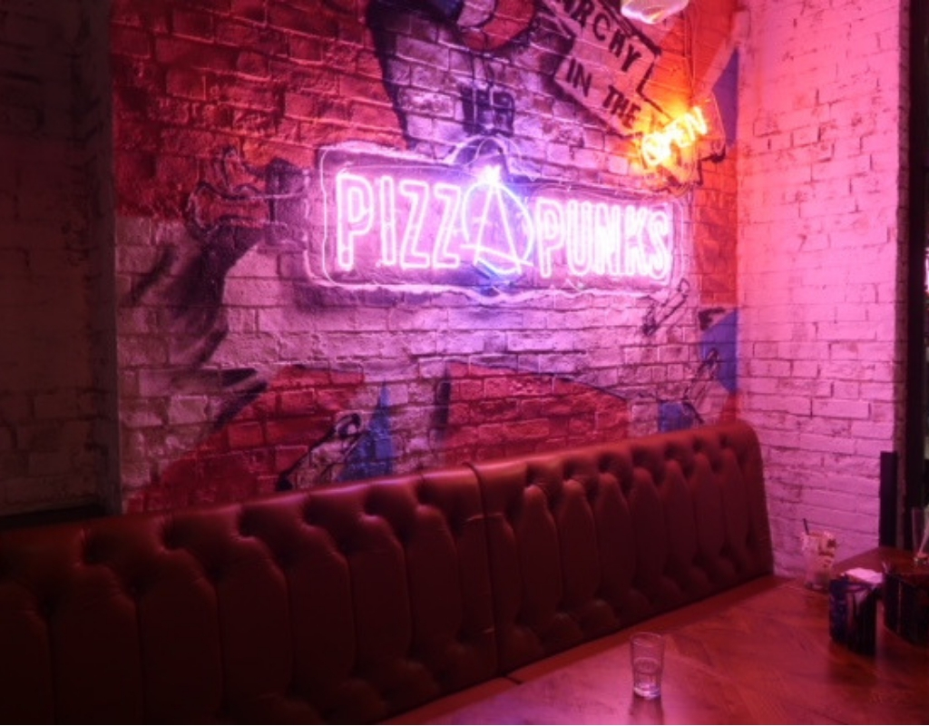 Putting the Punk into Newcastle Pizza
