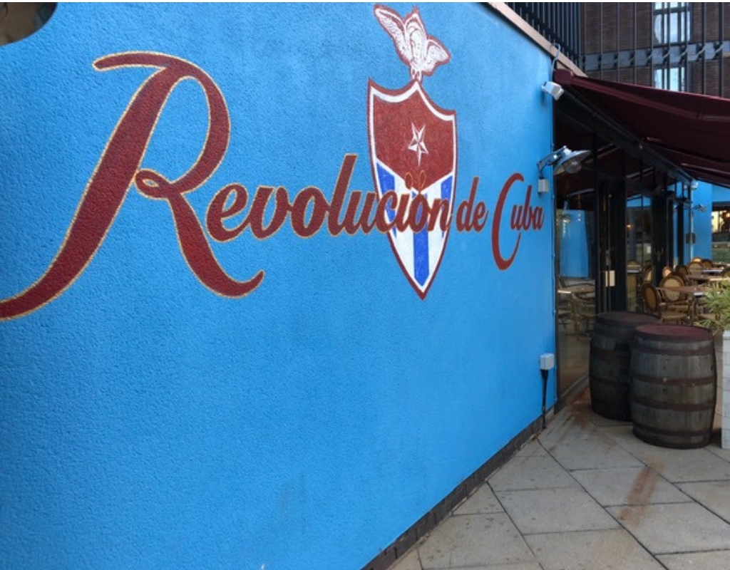 Revolucion de Cuba brings the Carnival to your Lunchtime
