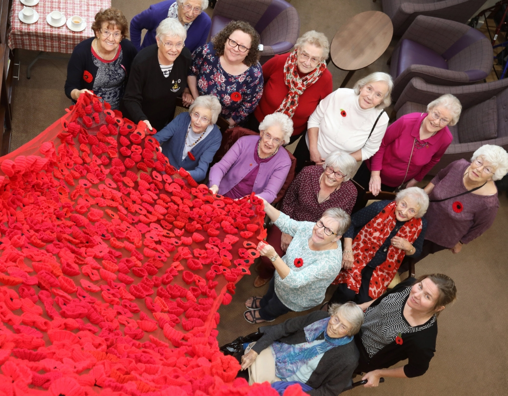 1,000 poppies to remember Northumberland's fallen